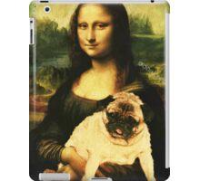 MONA LISA PUG iPad Case/Skin