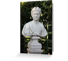 Marble bust Greeting Card