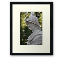 Alexander the Great Bust Framed Print