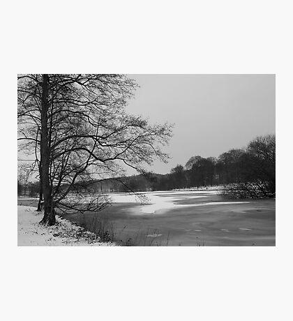 A Frozen Lake Photographic Print