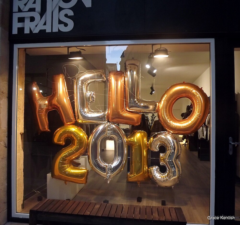 Happy New Year 2013 by graceloves