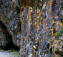 Colourful Gordale Rock by James Kowacz