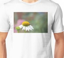 Busy Bee on Flower Unisex T-Shirt