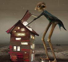 'Bulb Factory' II by Matylda  Konecka Art