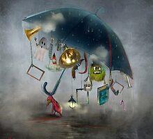 'Saving The Ideas'  by Matylda  Konecka Art