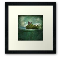 'Under The Castle'  Framed Print