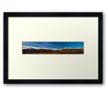 Mountains of Assynt Panorama Framed Print