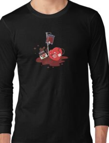 Broken heart needs chocolate Long Sleeve T-Shirt