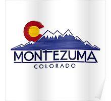Montezuma Colorado wood mountains Poster