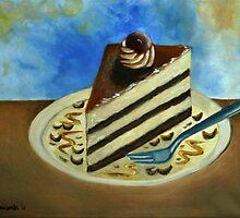 Caramel Cake by Kostas Koutsoukanidis