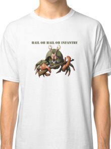 Crab infantryman ready for combat action Classic T-Shirt