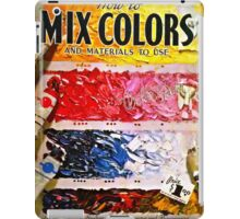 How To Mix Colors iPad Case/Skin