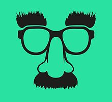 Groucho mask - nerd glasses by badbugs