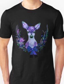 Black and deer T-Shirt