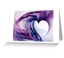 Grunge Heart Greeting Card