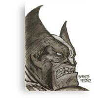 Danger Megbel's Comic Series (Wolverine) Canvas Print