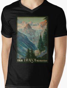 Vintage poster - Trafoi Mens V-Neck T-Shirt