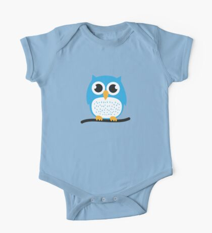 Sweet & cute owl One Piece - Short Sleeve