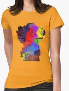 Justice Watercolour Womens Fitted T-Shirt