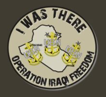 I Was There - Iraq (Navy Chief) by SandSquid