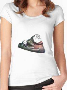 Jabba Alone Women's Fitted Scoop T-Shirt