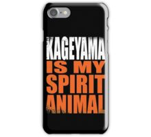 Kageyama is my Spirit Animal iPhone Case/Skin