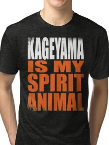 Kageyama is my Spirit Animal Tri-blend T-Shirt