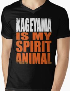 Kageyama is my Spirit Animal Mens V-Neck T-Shirt