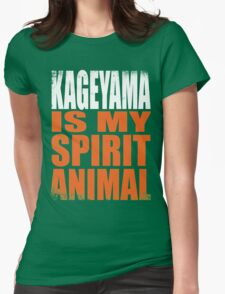 Kageyama is my Spirit Animal Womens Fitted T-Shirt