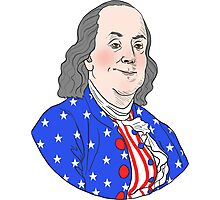 The Founding Bros: Ben Franklin Photographic Print