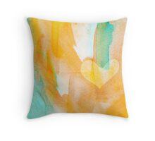 Colourful love pouch Throw Pillow
