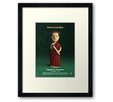 Hypatia of Alexandria - Delta Cruel Blow Framed Print