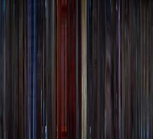 Moviebarcode: Star Trek II: The Wrath of Khan (1982) by moviebarcode