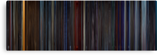 Moviebarcode: Star Trek II: The Wrath of Khan (1982) by moviebarcode