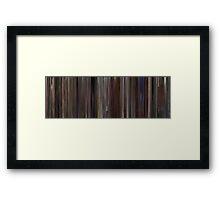 Moviebarcode: Rain Man (1988) Framed Print