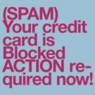 (Spam) Blocked! (Magenta type) by poprock
