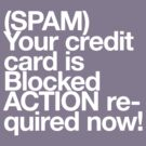 (Spam) Blocked! (White type) by poprock