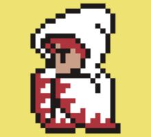 pixel white mage One Piece - Short Sleeve