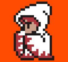 pixel white mage Kids Tee
