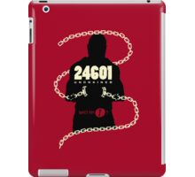 24601 Unchained iPad Case/Skin