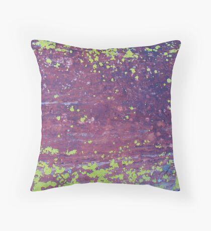 Lichen, Juniper, & Supai Sandstone #2 Throw Pillow