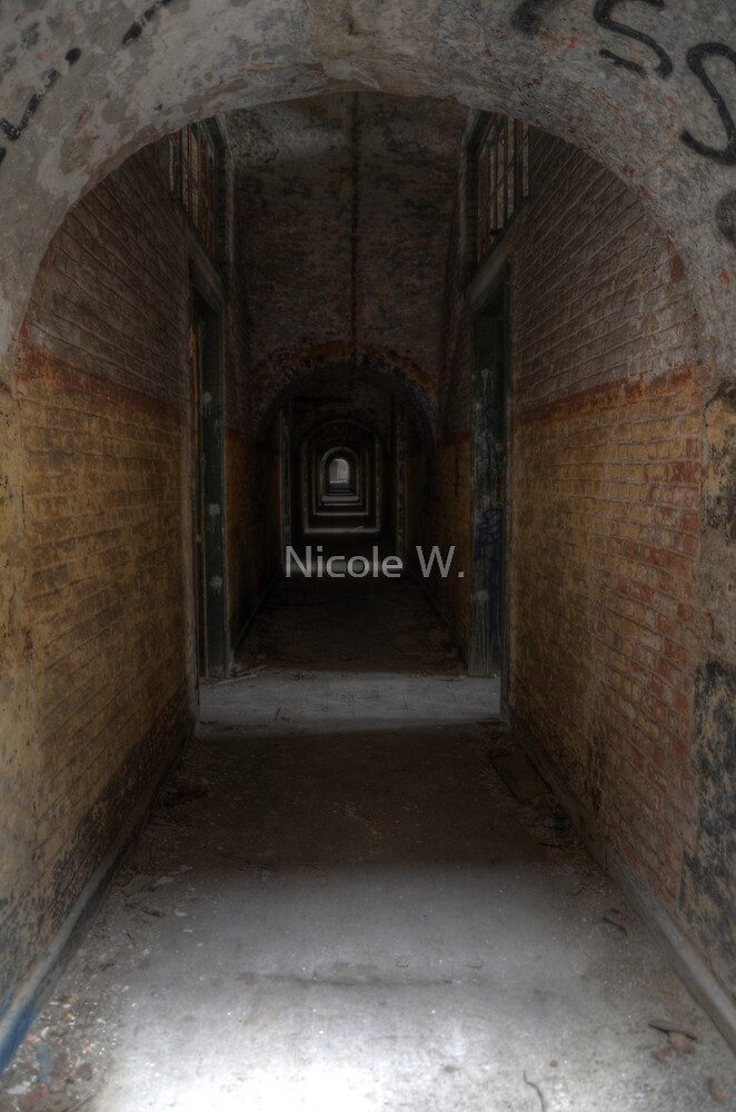 light at the end of the tunnel by Nicole W.