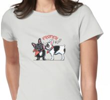 French Kiss {Type} Womens Fitted T-Shirt