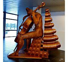 Wooden Sculpture Photographic Print