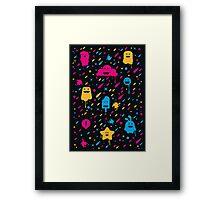 Cute Color Stuff Framed Print