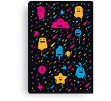 Cute Color Stuff Canvas Print
