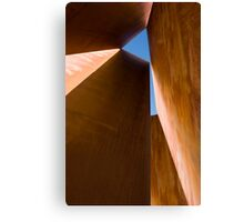 Rusty sculpture Canvas Print