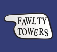 Fawlty Towers - Sign Design by metacortex