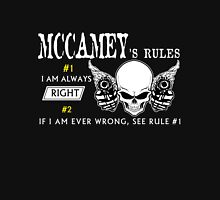 MCCAMEY Rule #1 i am always right. #2 If i am ever wrong see rule #1 - T Shirt, Hoodie, Hoodies, Year, Birthday T-Shirt