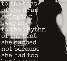 she danced~ by Brandi Burdick